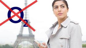 Zákazníci O2 z Česka i Slovenska mají problém s roamingem.