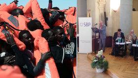 Evropě hrozí další - a ještě silnější - migrační krize, varovali odborníci na konferenci v Profesním domě v Praze.