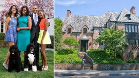 Do domu se Obamovi nastěhovali letos v lednu.