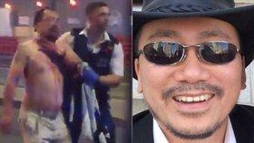 Britský novinář byl během útoku pobodán, rodina jej nemohla najít.