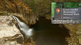 Čech zemřel po pádu z vodopádu v horách na východě USA.