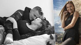Monika Bagárová si užívá romantické chvíle se svým přítelem.