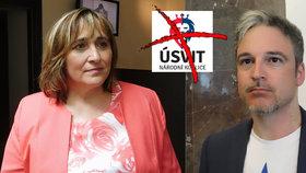 V Úsvitu skončili poslanci Jana Hnyková i Martin Lank.