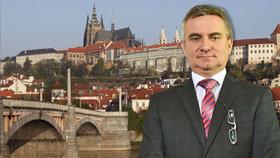 Vratislav Mynář oslavuje své padesáté narozeniny přímo na Hradě.