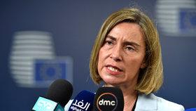 Plán novinářům představila šéfka unijní diplomacie Federica Mogheriniová.
