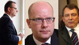 Bohuslav Sobotka není jediným českým premiérem, kterému se rozpadlo manželství.