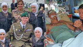 Vojáka Lukáše Hirku (30) zranili v Afghánistánu: V mozku jsem měl střepinu z rakety! 4,5 roku bojuje o život!