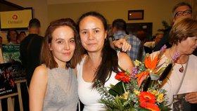Tereza Voříšková s maminkou