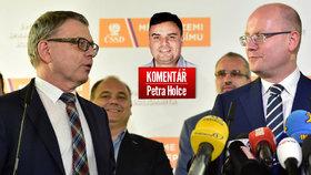 Ministr zahraničí Lubomír Zaorálek se ujal postu volebního lídra ČSSD, Bohuslav Sobotka zůstává dál premiérem