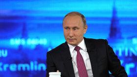 Putinovi do studia přišlo přes dva miliony dotazů.