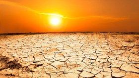 Až tři čtvrtiny planety ohrožuje ničivé vedro a sucho.