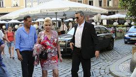 Ivana Trump v Praze