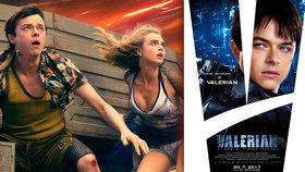 Film Luca Bessona Valerian a město tisíce planet má českou premiéru 20. července 2017.