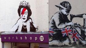 Dílo sprejera Banksyho