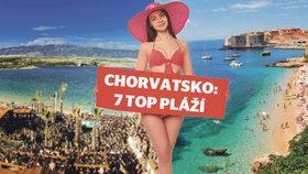 Podívejte se na top 7 nejlepších pláží v Chorvatsku.