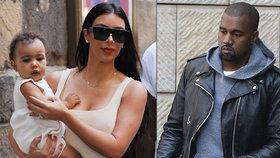 Kanye West by chtěl další děti, Kim však ne.