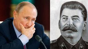 Putin skončil v průzkumu o nejlepší osobnost opět druhý. Zase vyhrál Stalin.