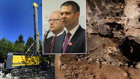 Češi mají v Krušných horách lithiový poklad. Uvědomují si to i premiér Sobotka s ministrem Havlíčkem (ČSSD).