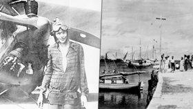 Záhada osudu legendární letkyně Amelie Earhartové: Nové důkazy v podobě fotografií?