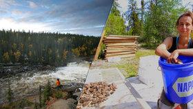 Češka šla v Kanadě na houby. Čtyři dny bloudila v lesích.