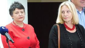 Ženy, které posilují kandidátku TOP 09: Džamila Stehlíková a Olga Sommerová
