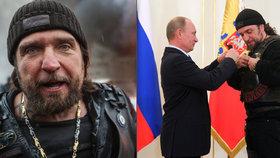 »Chirurg« Zaldostanov dělá Putinovi chlapáckou reklamu. Za vlasteneckoou výchovu mládeže od něj dostal i vyznamenání.