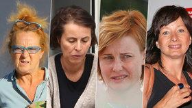 Herečky ukázaly tváře bez make-upu.
