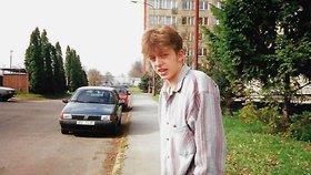 Fotografie z mládí Víta Rakušana - kandidáta do Poslanecké sněmovny a místopředsedy hnutí Starostové a nezávislí