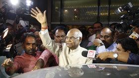 Novým prezidentem Indie je Rám Náth Kóvind.