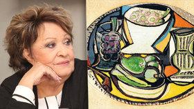 Herečka chtěla investovat do umění, místo toho přišla o své úspory.