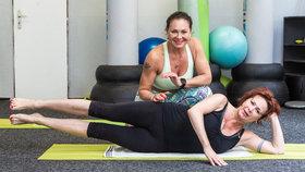 Ilona Svobodová cvičí s Ivkou Davidovou už přes 10 let.