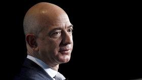 Nejbohatší muž světa Jeff Bezos, zakladatel Amazonu