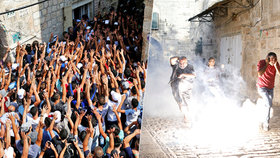Muslimové se vrátili do mešity Al-Aksá v Jeruzalémě. Došlo však i na střety s izraelskou policií.