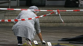 Pachatele útoku v supermarketu v Hamburku policie dopadla do půl hodiny