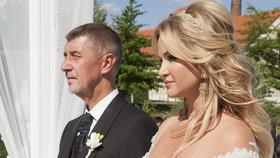Svatba Andreje a Moniky Babišových