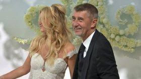 Svatební oslavy Andreje a Moniky Babišových