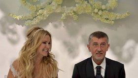 Svatební oslavy Andreje a Moniky Babišových byly také na Čapím hnízdě