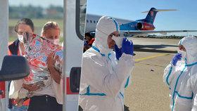 13měsíční holčička zůstává s infekcí ve slovenské nemocnici. Nemoc propukla na dovolené v Egyptě. Domů ji kvůli zhoršujícímu se zdravotnímu stavu dopravil vládní speciál.