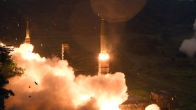 KLDR odpálila další balistickou raketu.