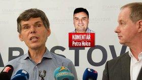 Dalibor Dědek (vlevo) je novým želízkem v ohni strany Petra Gazdíka