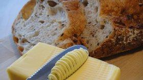 Cena másla stoupá do nemyslitelných výšin.