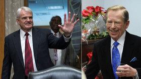 Budoucí americký velvyslanec neumí vyslovit jméno Václava Havla.