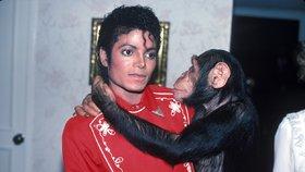 Bubbles a Michael byli nerozlučná dvojka.