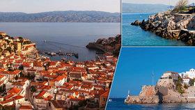Ostrov Hydra patří k nejkrásnějším ostrovům Řecka.