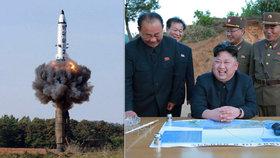 Raketové testy KLDR budí na západě pohoršení, Rada bezpečnosti schválila doposud neostřejší sankce.