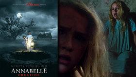 Děsivá panenka Annabelle se vrací do kin 10. srpna 2017.