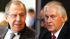 """Cítili jsme připravenost USA k dialogu,"" Lavrov se sešel s Tillersonem."