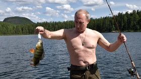 Putin na rybolovu