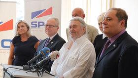 František Ringo Čech je republikovým lídrem Strany práv občanů do podzimních sněmovních voleb.
