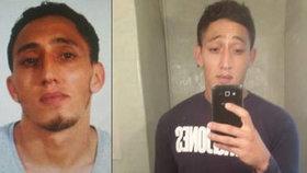 Policisté po útoku v Barceloně zadrželi Drisse Oukabira, mladíka marockého původu.